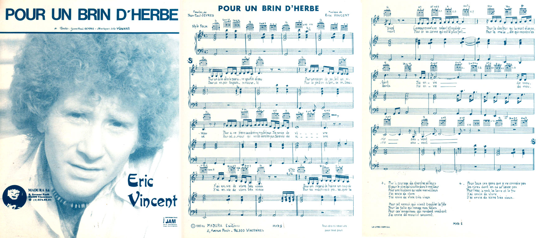 Partition/Sheet Music